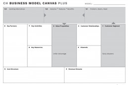 Business Model Canvas Plus