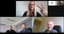 Online team meetings